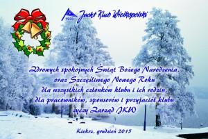 Życzenia świątezcne JKW 2015